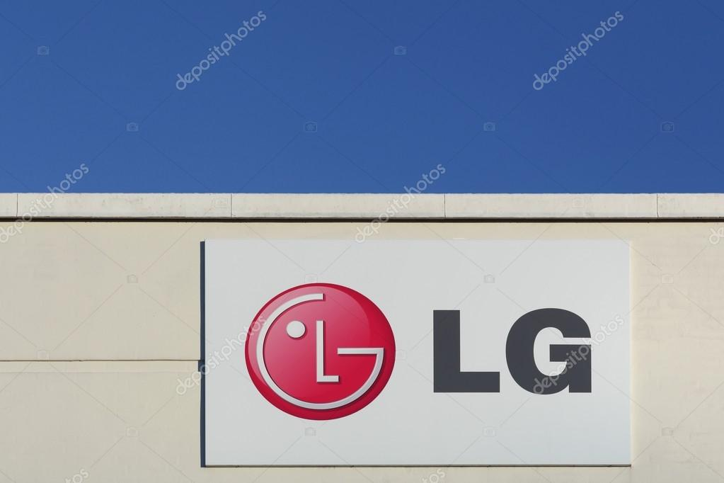 Lg Logo On A Facade Stock Editorial Photo Ricochet69 96722804
