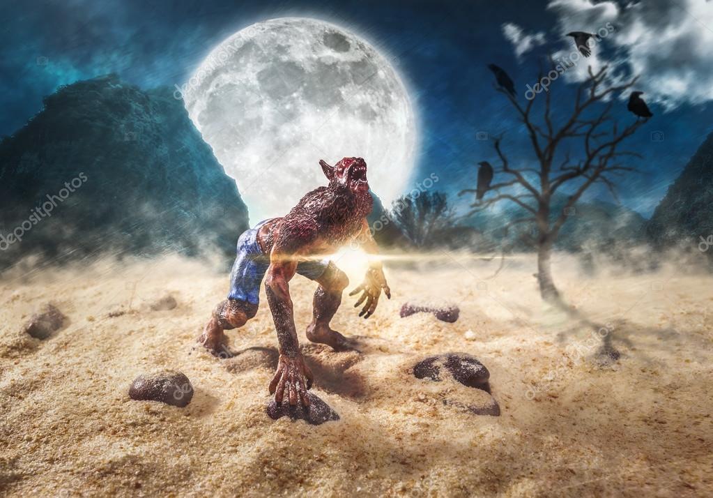 Imágenes Hombres Lobo En 3d Monstruo De Hombre Lobo Fondos De