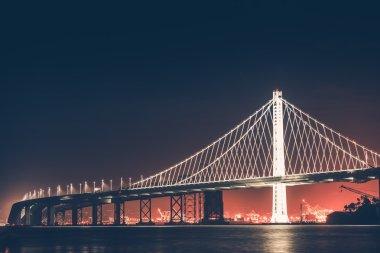 Oakland Bay Bridge at Night