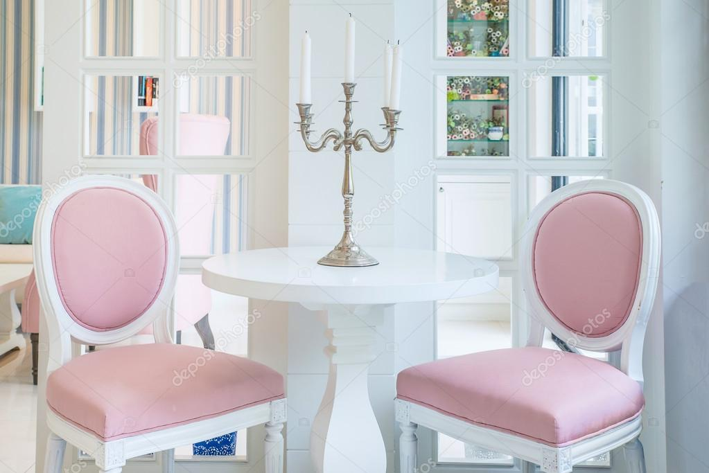 Roze woonkamer pink