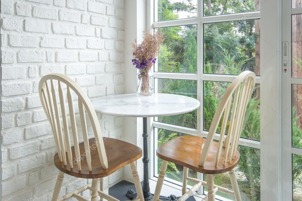 klassische Vintage-Stil-Möbel in einem Wohnzimmer set — Stockfoto ...