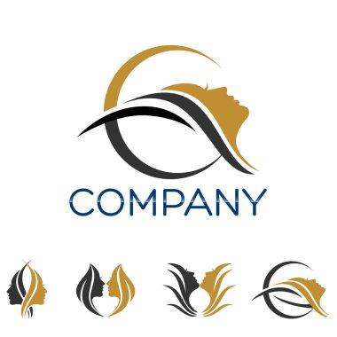 Example vector beauty logo