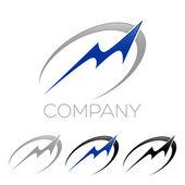 Logotyp písmeno M
