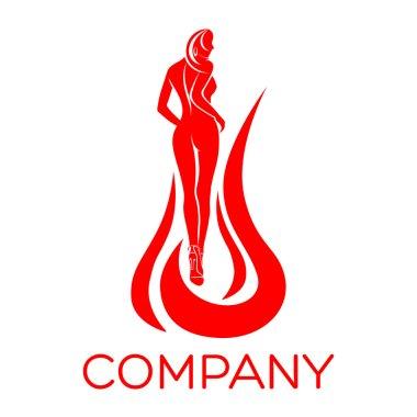 Example vector women logo
