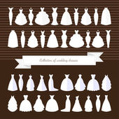 Különböző stílusú esküvői ruhák