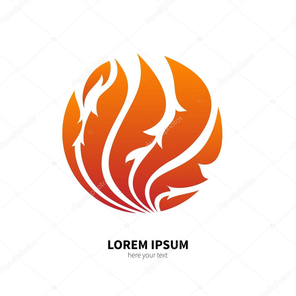 Symbol Of Fire Flame Archivo Imgenes Vectoriales Murr Ma