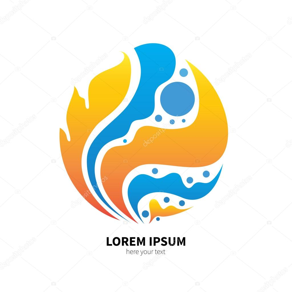 Symbol Of Fire And Water Murr Ma 105394104