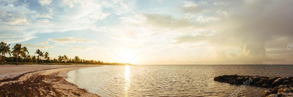 Sunrise at Key West.