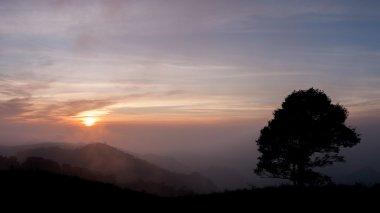 Sun rise and sun set