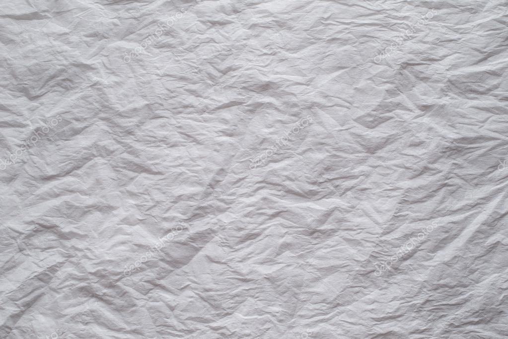 Immagini Bianco Carta Sfondo Bianco Carta Crespa Foto Stock
