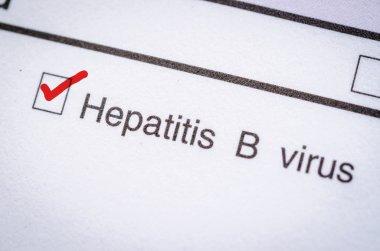 Hepatitis B form request.
