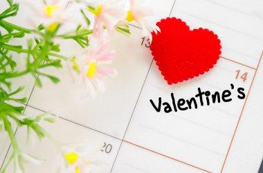 Saint Sevgililer günü 14 Şubat.