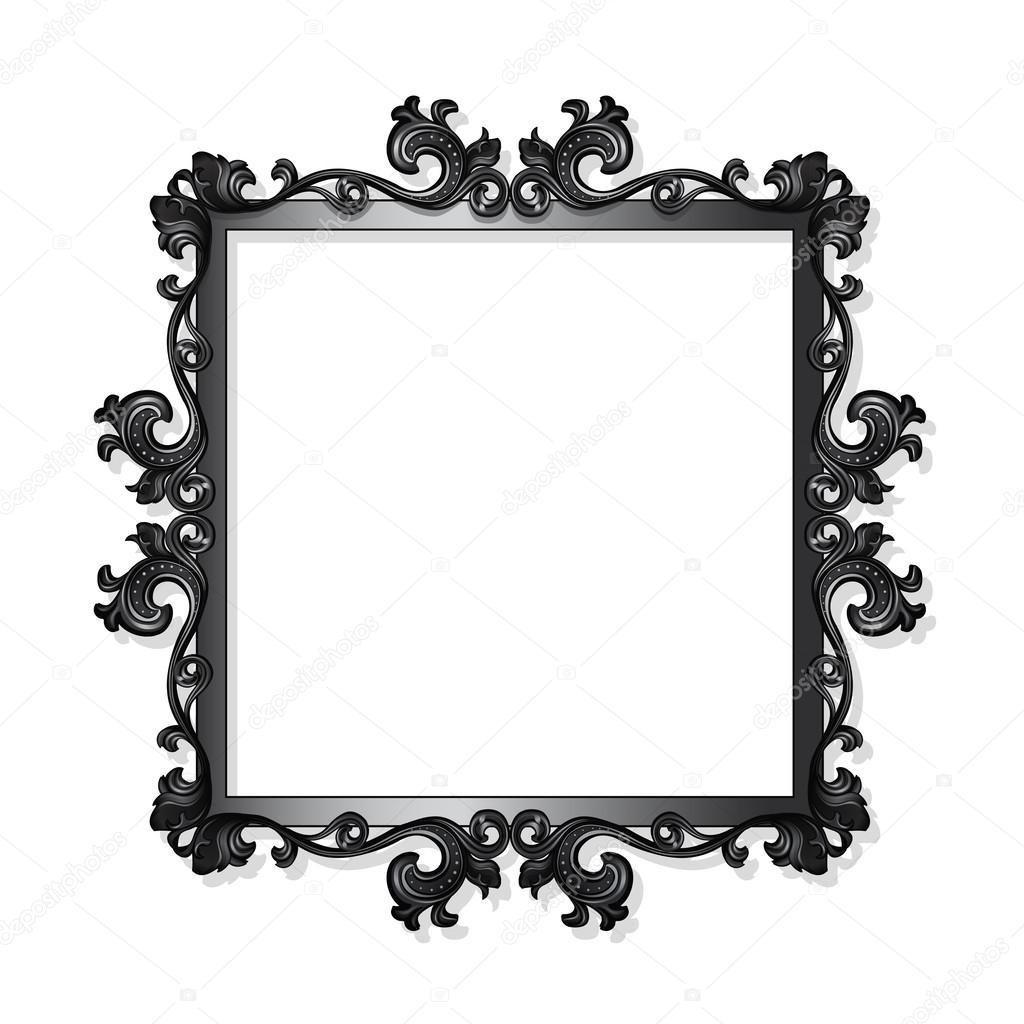 Vintage marco para cuadro o foto tallado archivo im genes vectoriales m svetlana 60456337 - Marcos de fotos vintage ...