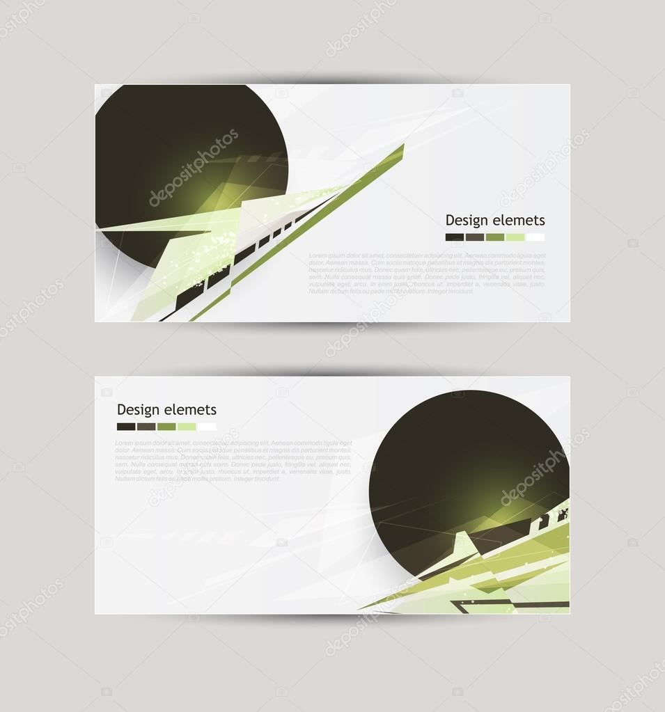 Moderne Design-Elemente. Vektordatei — Stockvektor © Pevunova #72652865