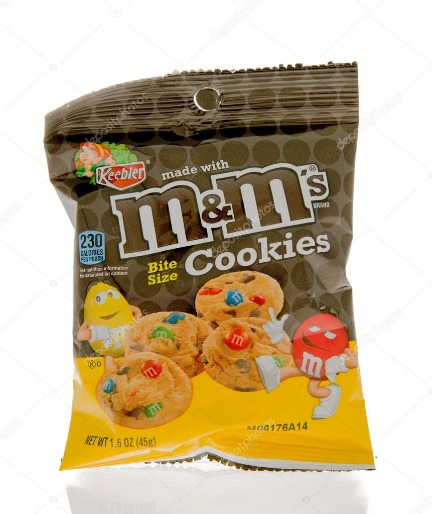M&M\'s cookies made by Keebler – Stock Editorial Photo © homank76 ...