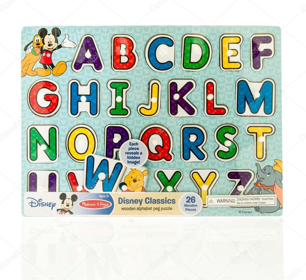 Disney Klassiker Puzzle Redaktionelles Stockfoto Homank76 109768722