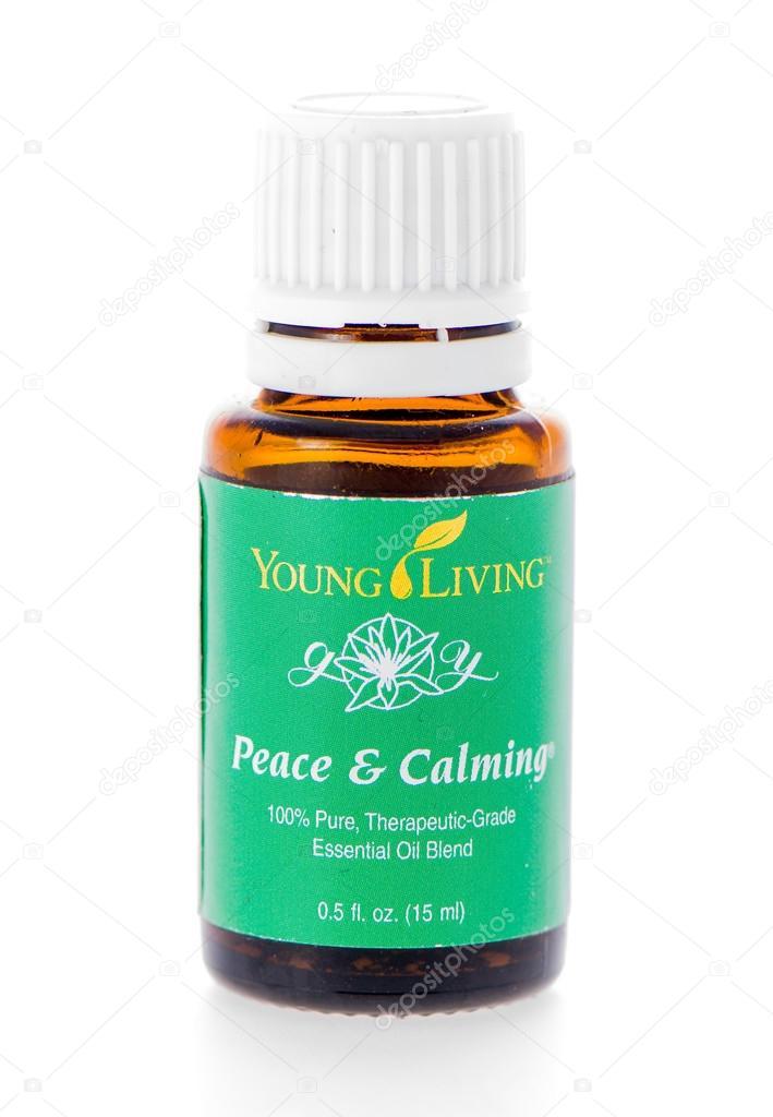 Peace & Calming essential oil supplement