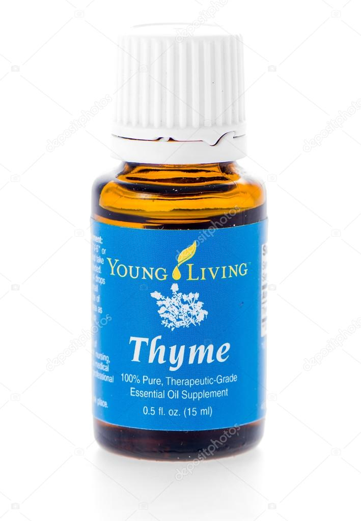 Thyme essential oil supplement