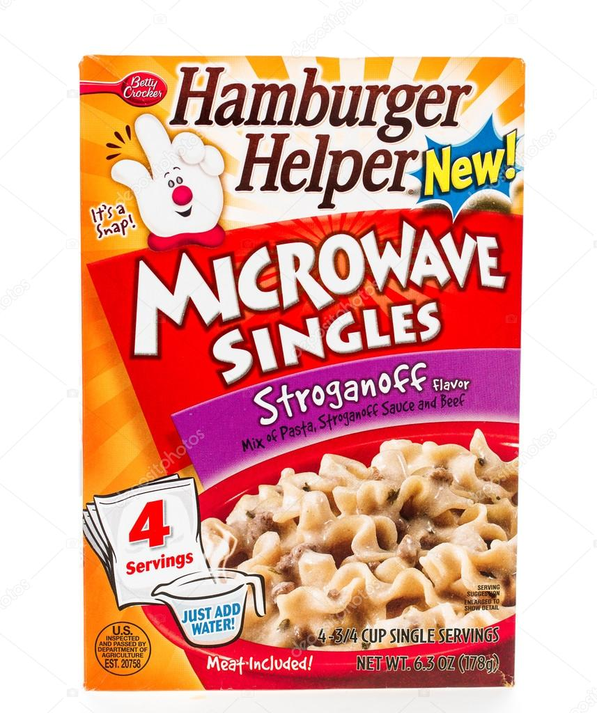 Hamburger helper singles
