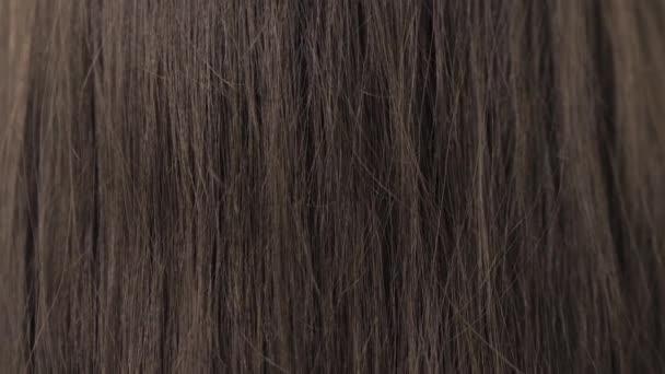 Bemutatása a barna haj kiegyenesítése előtt azt