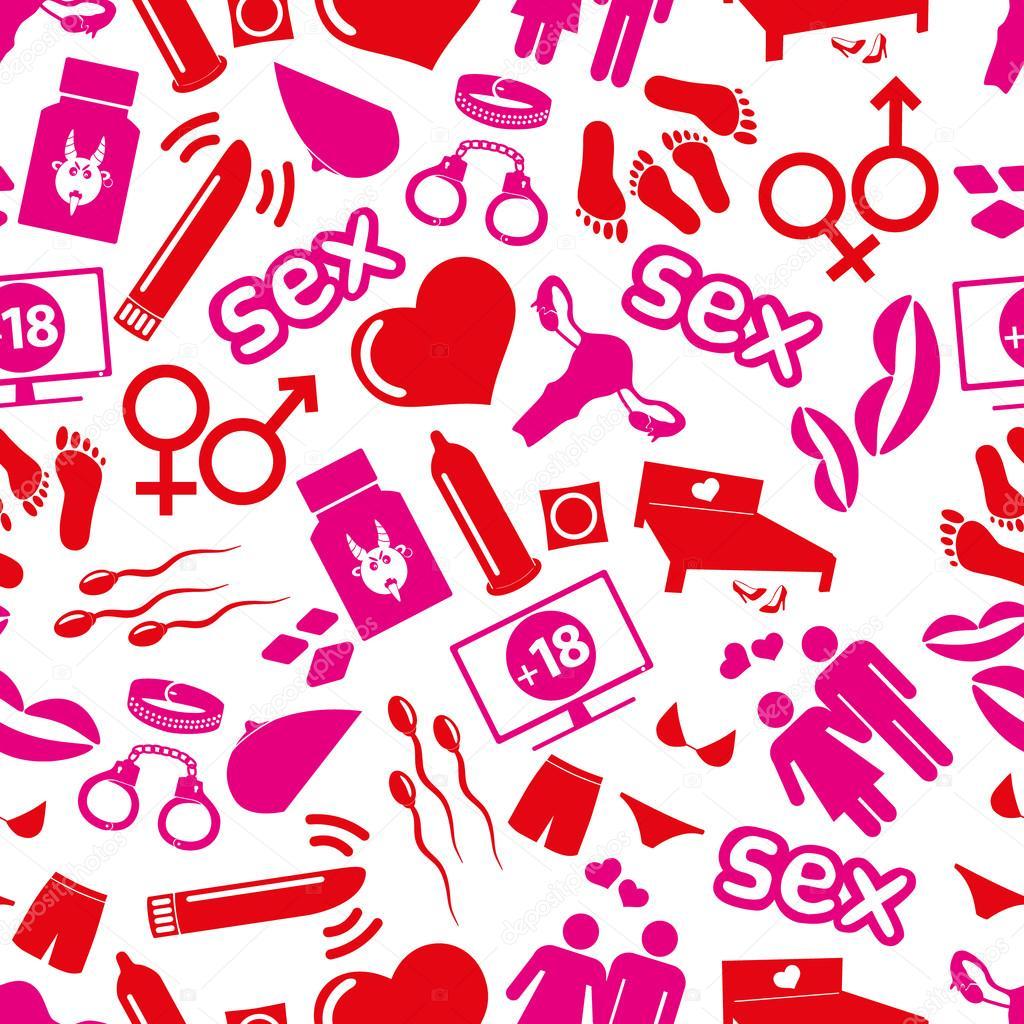 Рисованные секси в розовом