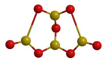 Borax - molecular structure