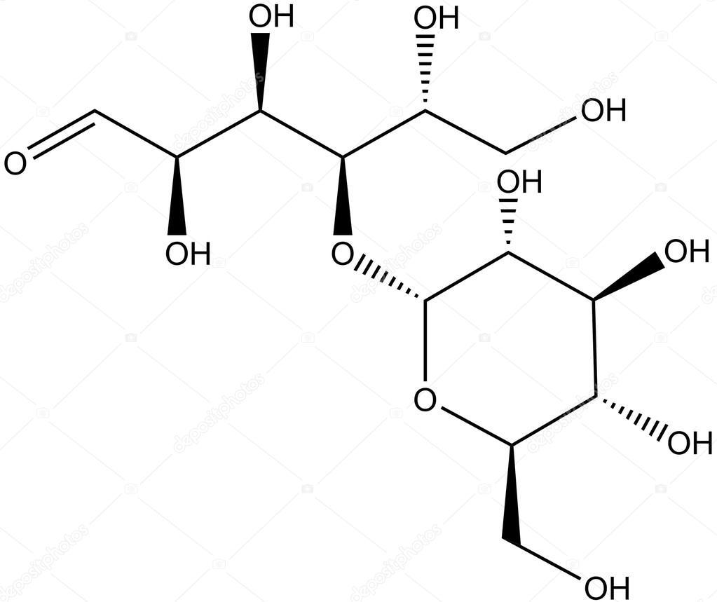Molecular Structure Of Maltose Stock Photo Raimund14