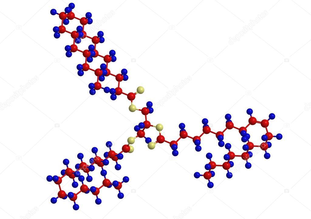 Example Of Lipid Triglyceride Stock Photo Raimund14 85775356