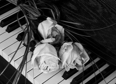 Condolence card wih flower