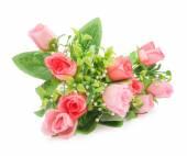 Photo Artificial roses bouquet