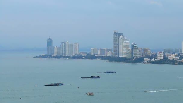 Pattaya city moře a pláže