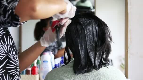 Nő festék haj