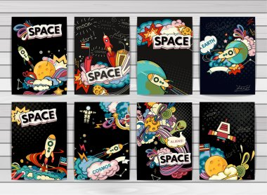 Banner illustration of cosmos