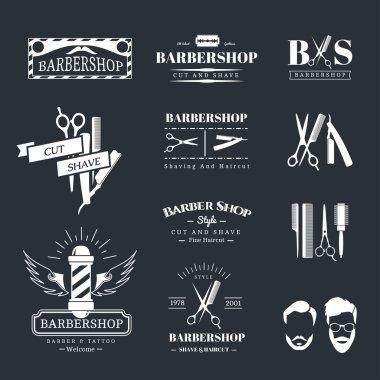 Barbershop design elements