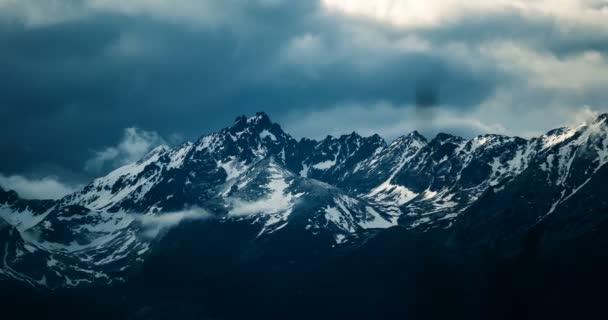 4K, Time Lapse, Epic Doomy Clouds Above High Tatra Mountain Range, Slovakia