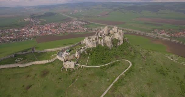 4 antenna k, antico castello, Spissky Hrad in Slovacchia