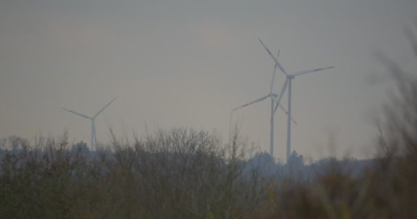 3 Power Poles, Wind Mills, Power Plant