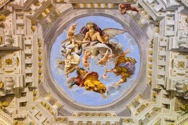 """Картина, постер, плакат, фотообои """"груди палаццо фресок - Флоренция"""", артикул 61974659"""