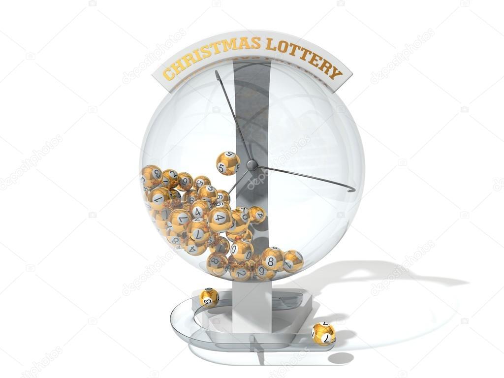 Lotto Weihnachten.Weiße Weihnachten Lotto Maschine Stockfoto Kasezo2 92982624
