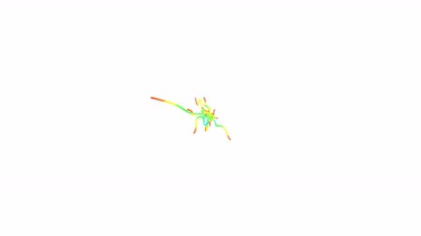 absztrakt 3D-s line 4k
