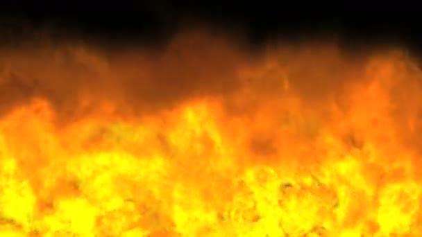 robbanás tűz láng 4k