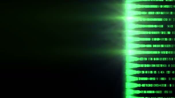 Digital Scan Bildschirm Matrix 4k