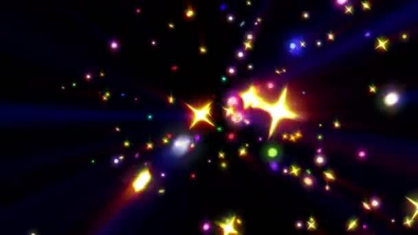 Barva hvězdy ray exploze 4k