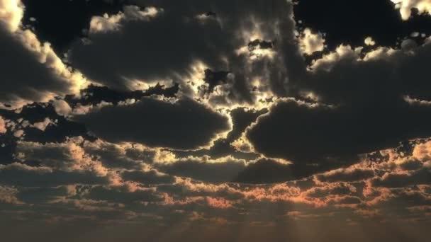 Bůh ray obloze slunce 4k