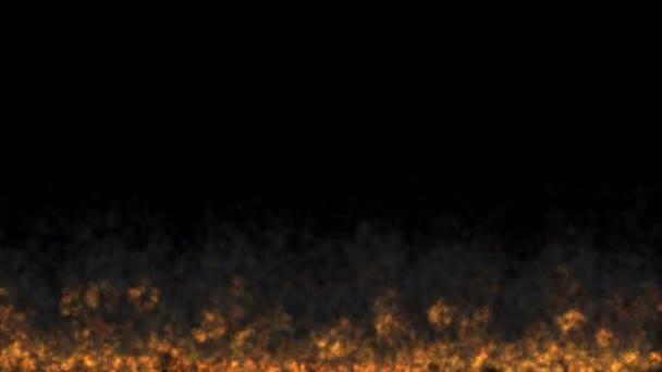 tűz lángja absztrakt 4k