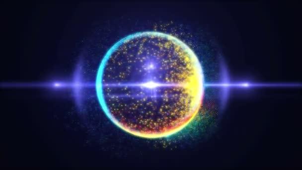Kosmos planety atom 4k