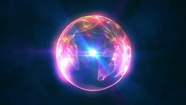 koule 3d flame ball 4k