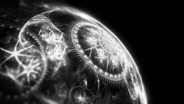 abstraktní planety zvěrokruhu 4k