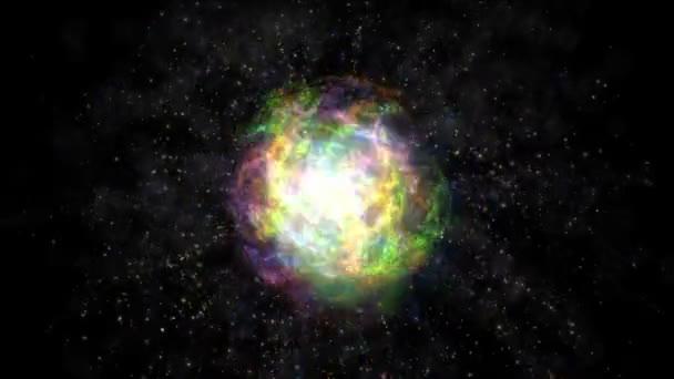 Atom barva abstrakt
