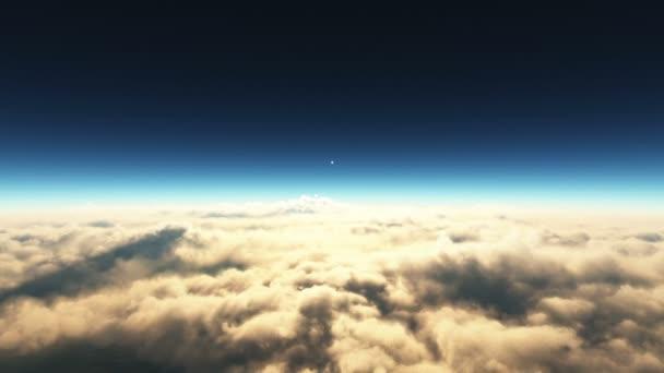 Přelet nad planetou
